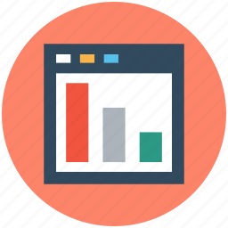 digital marketing, statistical chart, website graph, website ranking, website rating icon