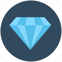 diamond, gem, gemstone, moonstone, precious stone icon
