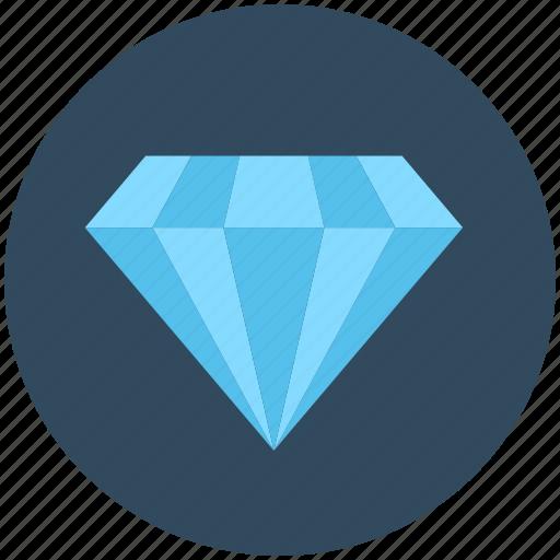 diamond, gem, gemstone, moonstone, precious stone icon