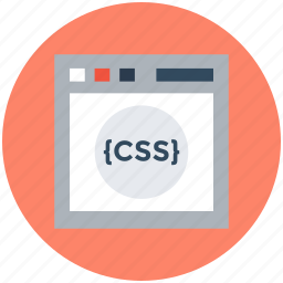 css, html, java, php, programming concept icon