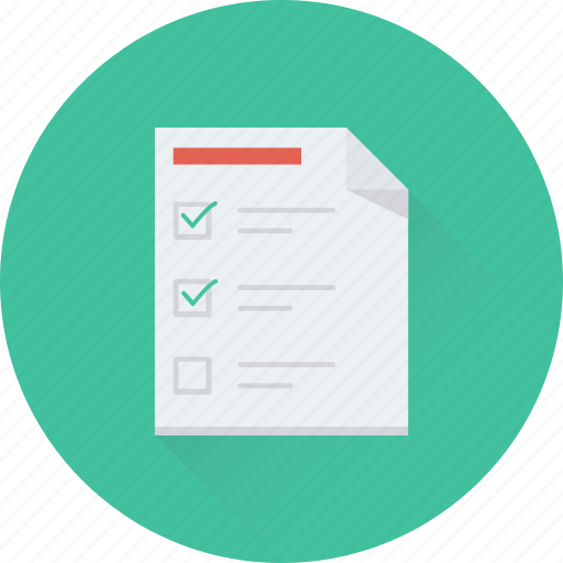 checklist, list, task, tick, to do icon