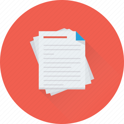 article, blog, content, document, text icon