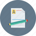 article, blog, content, document, pencil icon