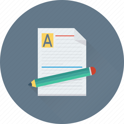 article, blog, content, document, pencil icon