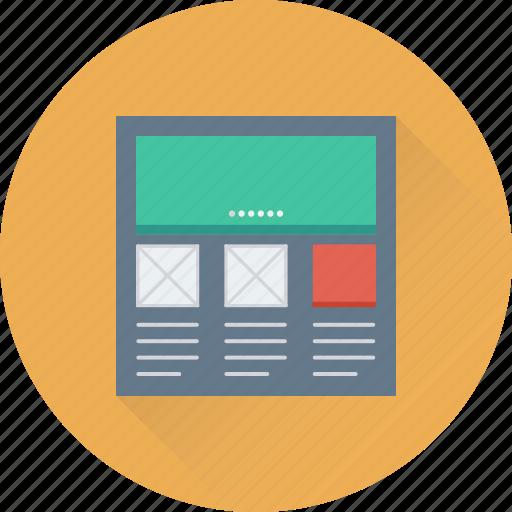 web, web design, web page, web template, website icon