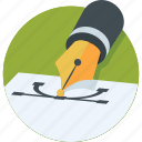 bezier, design, graphics, interface, pen tool icon