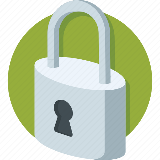 lock, privacy, protection, security, web icon