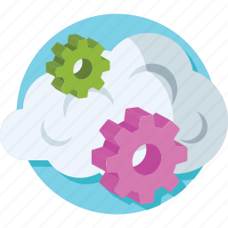 cloud settings, cogwheel, preferences, settings, setup icon
