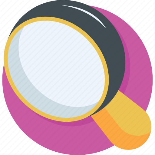 find, magnifier, magnifying glass, search, zoom icon