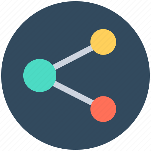 computing share, hierarchical, network, share, structure icon
