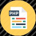 file extension, file format, php file, web element, web ui icon