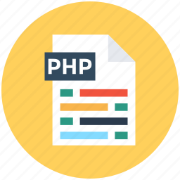 file extension, file format, php file, web element, web ui icon