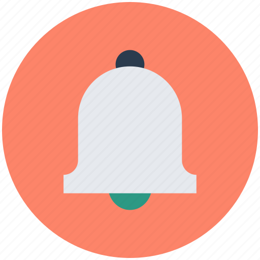 alert, bell, ding dong, hand bell, ring icon