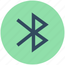 bluetooth sign, bluetooth symbol, domain, exchanging data, wireless technology icon