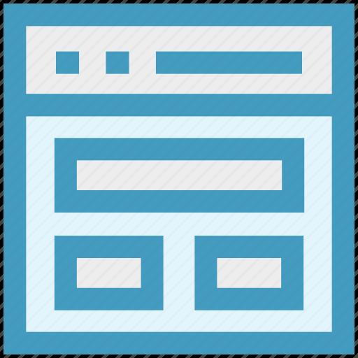 article, blog, browser, development, web, webpage, website icon