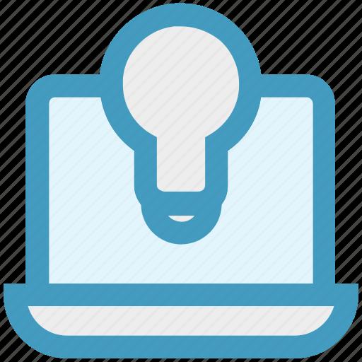 bulb, development, display, electronics, lcd, light, screen icon
