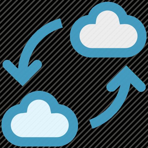 cloud, development, reload, restore, storage, sync, update icon