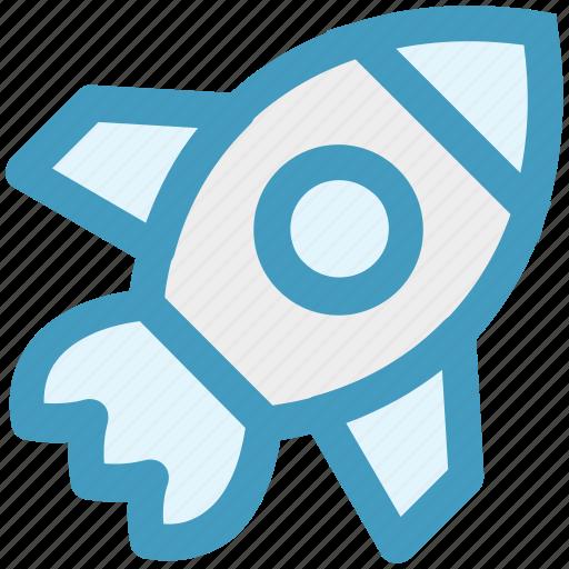 marketing, mission, rocket, space, spaceship, startup, travel icon