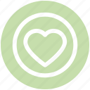 article, avorite, circle, design, heart, like, love icon
