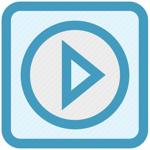 Film, media, movie, multimedia, play, player, video icon - Download on Iconfinder