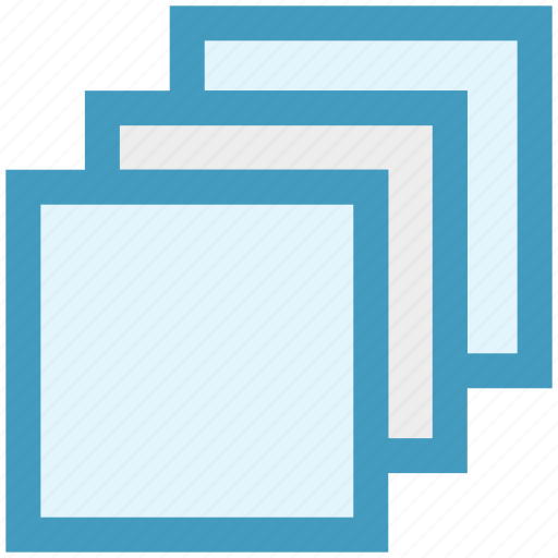 Arrange, design, layers, pages, plies, squares, stack icon - Download on Iconfinder