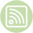 connection, internet, rss, signals, strength, wifi, wireless icon