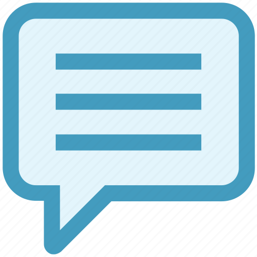 chat, comment, conversation, message, sms, talk, text icon