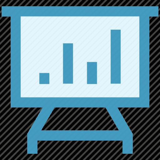 analytics, board, chart, design development, diagram, graph, statistics icon