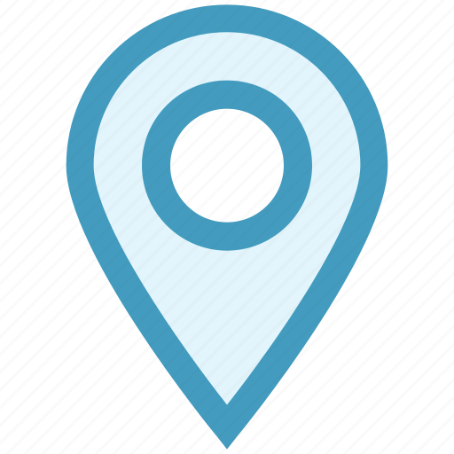 Gps, location, location pin, map, navigation, pin, place icon - Download on Iconfinder