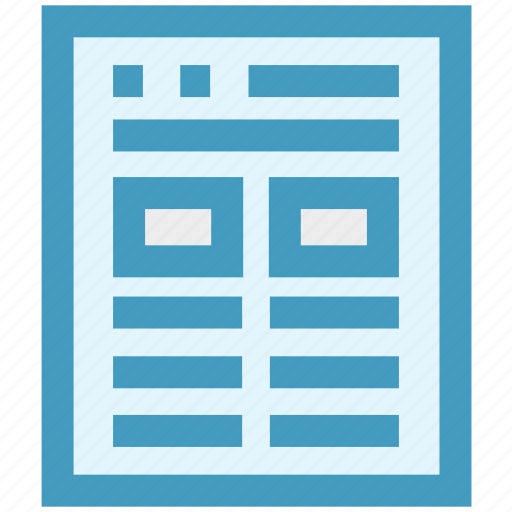 News, news article, newsletter, newspaper, paper, press, reading icon - Download on Iconfinder