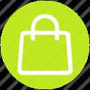 bag, basket, buy, gift bag, package, paper bag, shopping bag