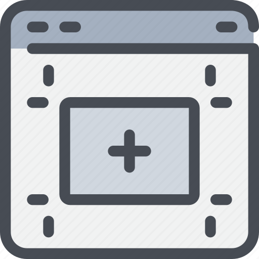 browser, design, development, web icon