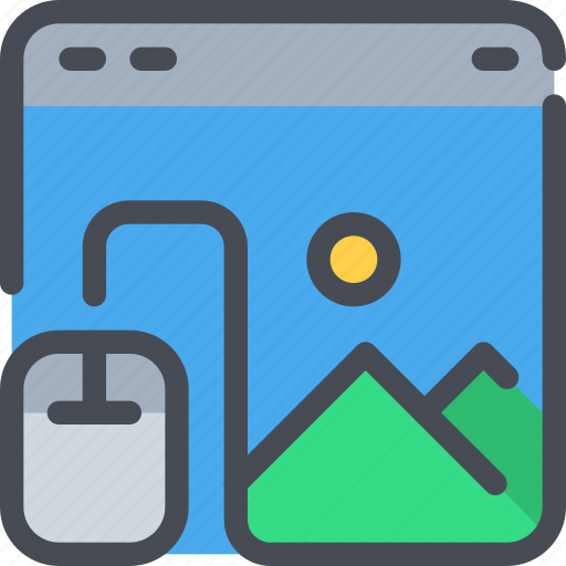 Browser, design, development, mouse, web icon - Download on Iconfinder