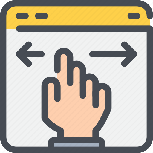 arrow, browser, develop, development, web, website icon
