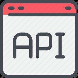 browser, code, coding, development, web icon
