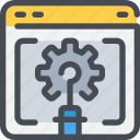 browser, development, gear, process, web