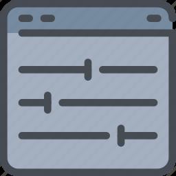 browser, develop, development, option, web icon