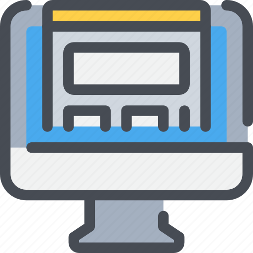 Browser, computer, design, development, web icon - Download on Iconfinder