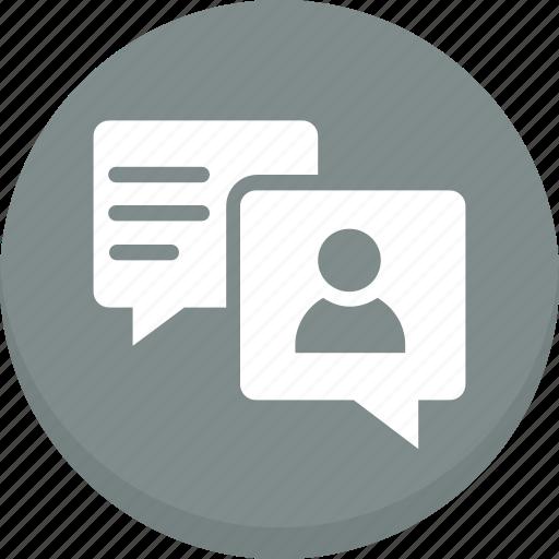 bubble, chat, comments, speach icon