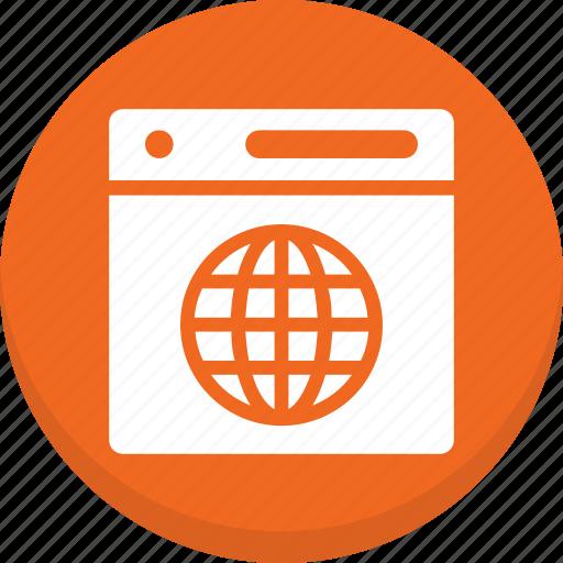 Globe, webpage, world icon - Download on Iconfinder