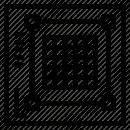 design, grid, layout, web, website icon