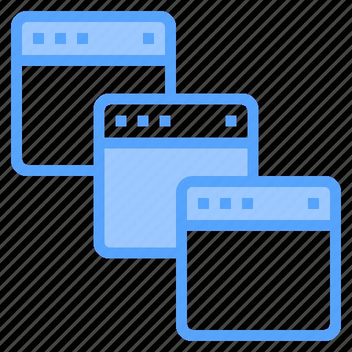 blogging, browser, design, ideas, laptop, programming, technology icon
