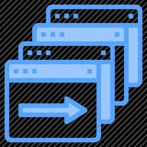 blogging, design, ideas, page, programming, technology, web icon