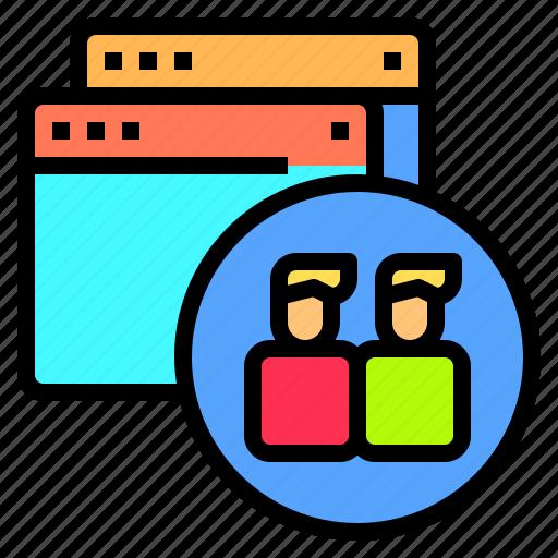 blogging, design, ideas, laptop, programming, technology, user icon