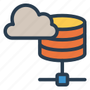 cloud, database, mainframe, storage icon