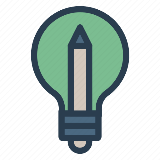 Bulb, creativity, idea, light icon - Download on Iconfinder