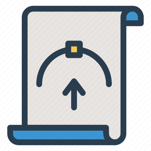 bezier, design, document, drawing icon