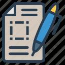 create, document, edit, write