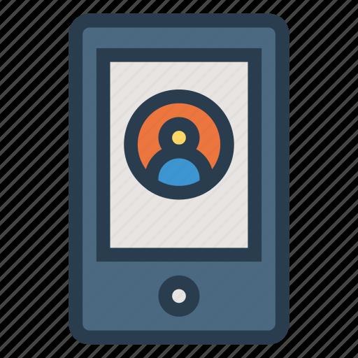 account, mobile, profile, user icon