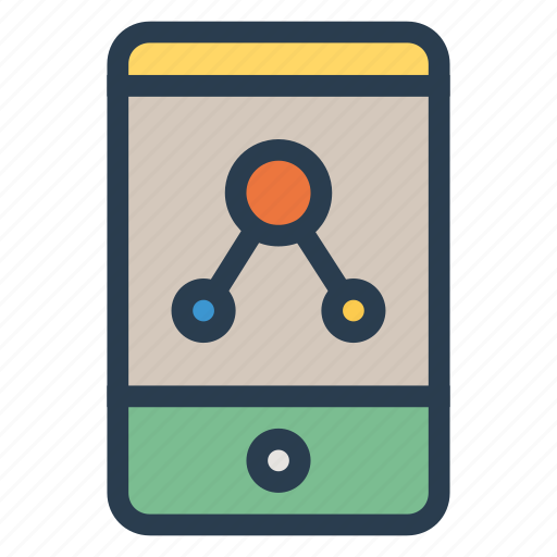 connect, device, mobile, phone icon